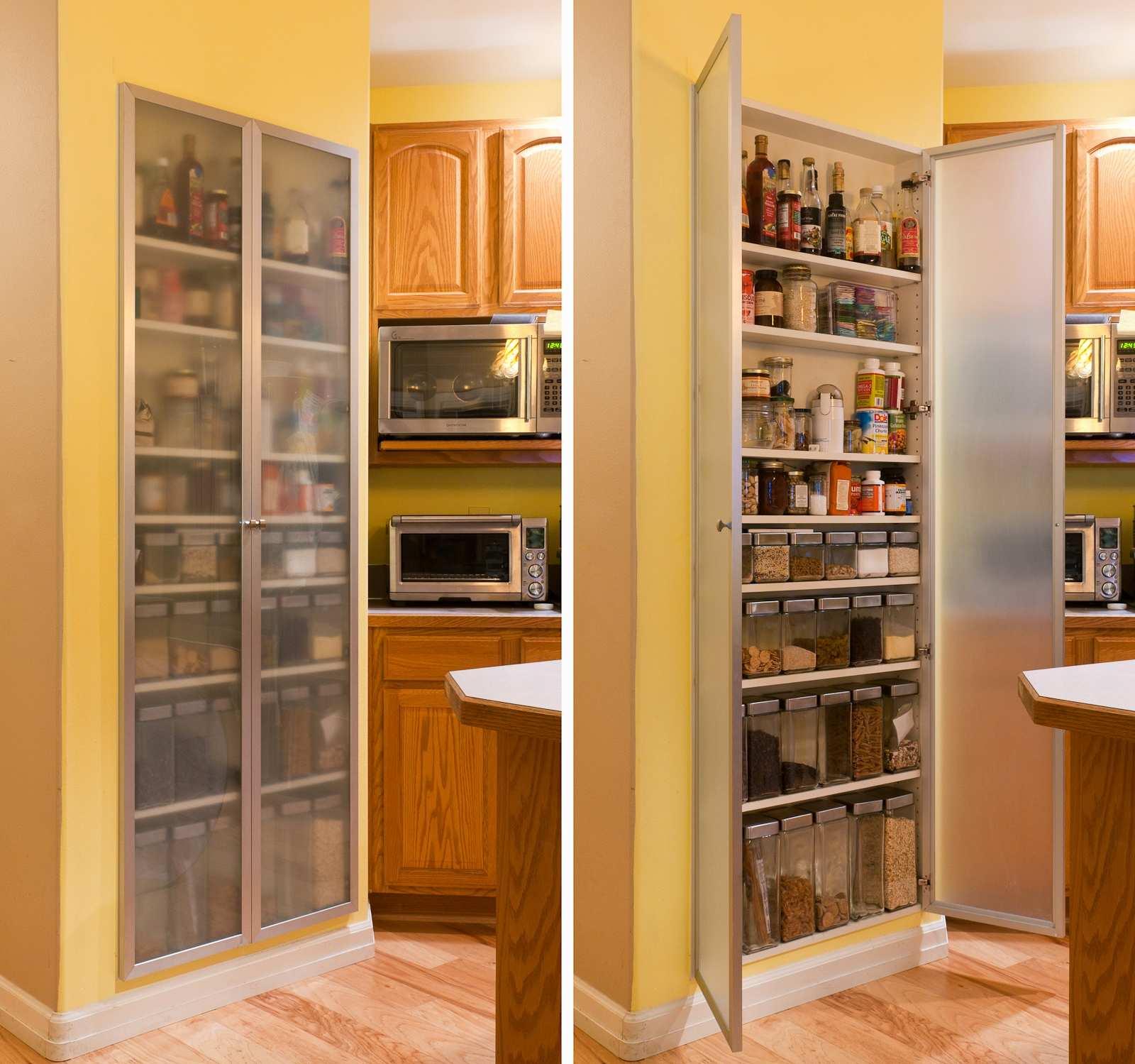 mehrere wände pantry küche