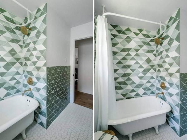 mosaikmuster ideen badezimmergestaltung