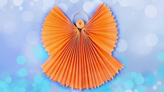 origami engel basteln