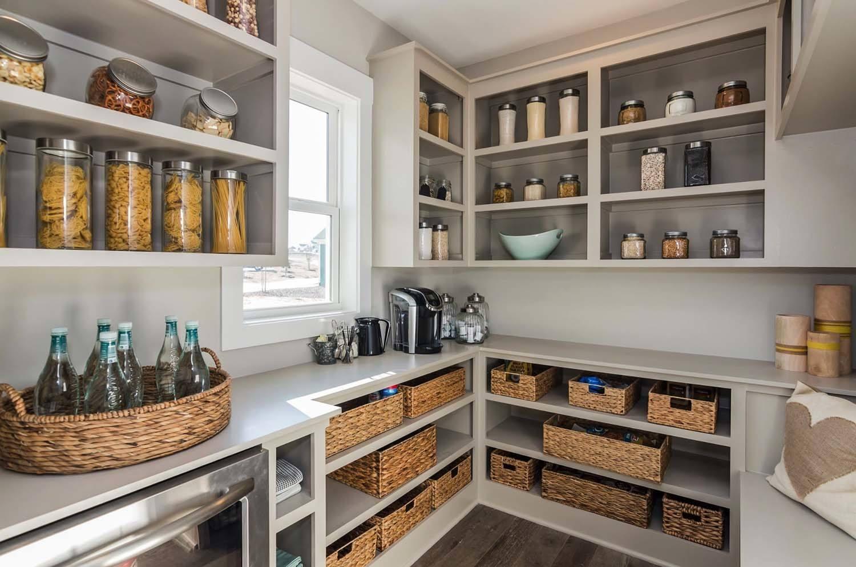 pantry küche sauberes aussehen