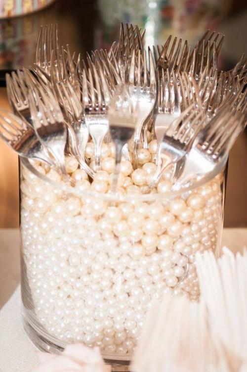 perlen und besteck deko ideen