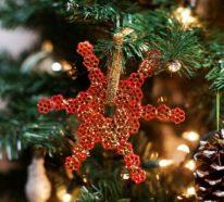 Basteln mit Nudeln zu Weihnachten – 60 wunderschöne Beispiele für eine zauberhafte Dekoration