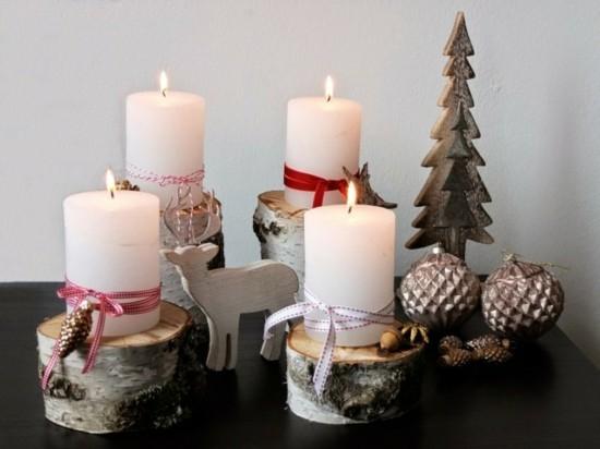skandinavischen adventskranz selber basteln
