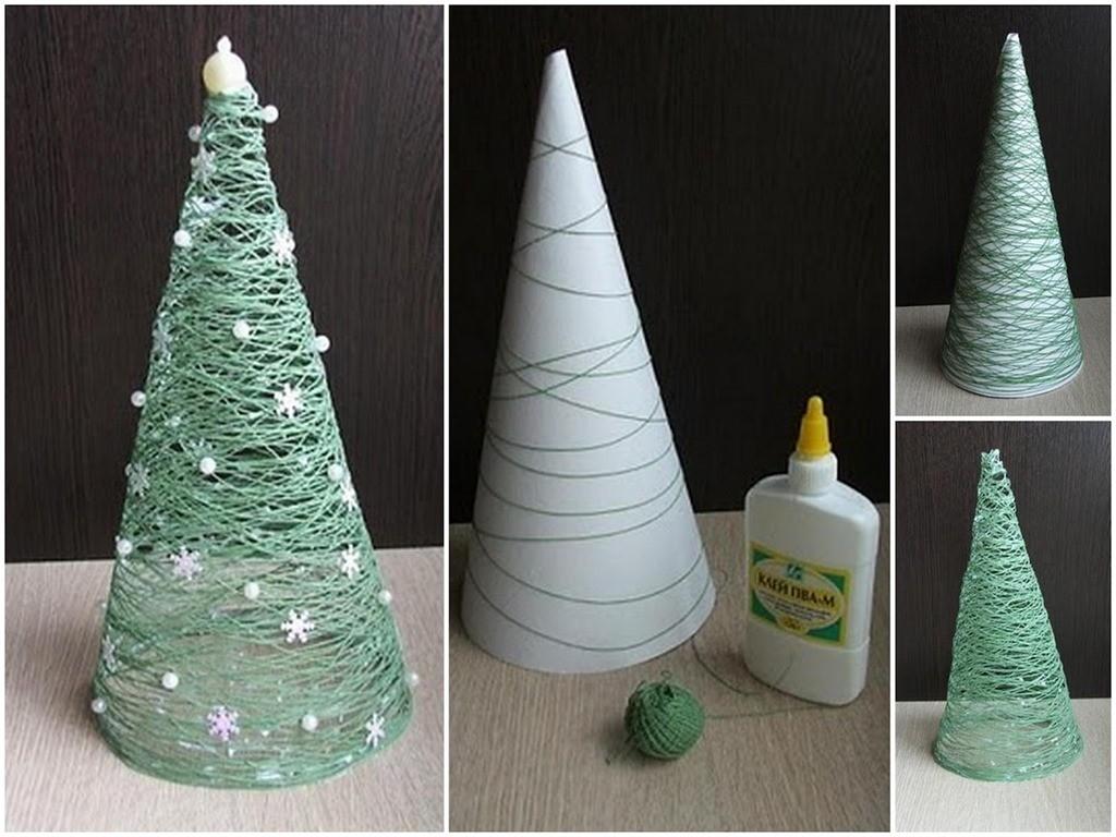 tannenbaum figuren weihnachtsbastelideen