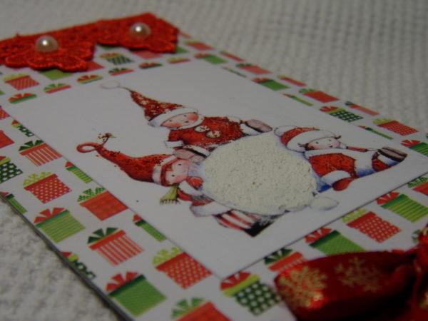 tolle zeichnunge mit zwergen und weihnachtsmann weihnachtskarten basteln