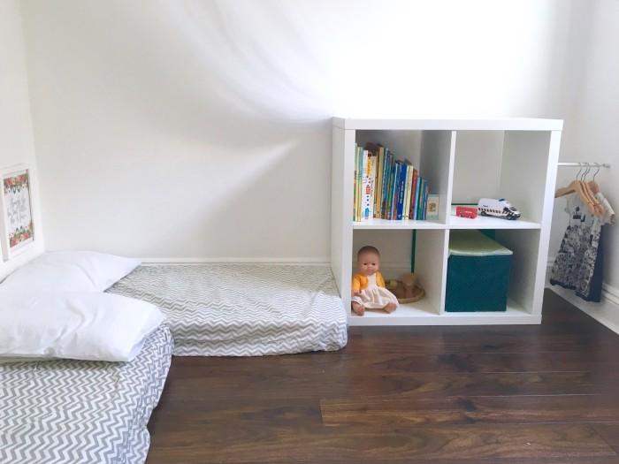 Montessori Bett - Idee, Vorteile, moderne Kinderzimmer-Designs