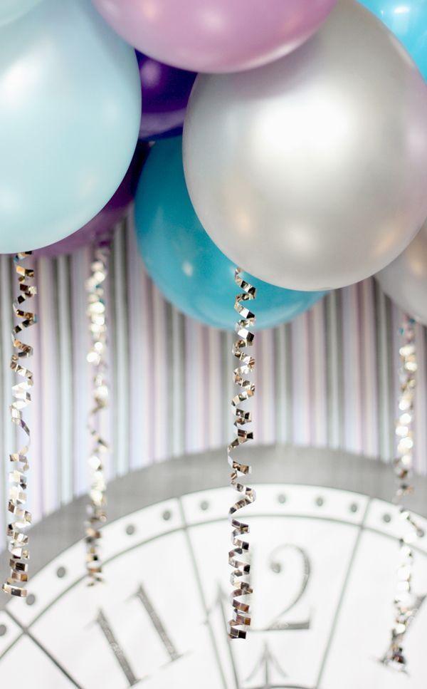 unterschiedliche ballons deko ideen