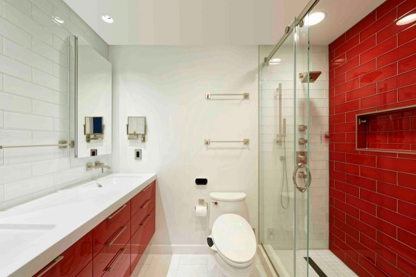 bathroom design dc Awesome Modern Kids Bathroom in Washington DC