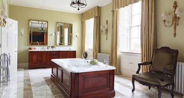 viele grüne schattierungen badezimmergestaltung