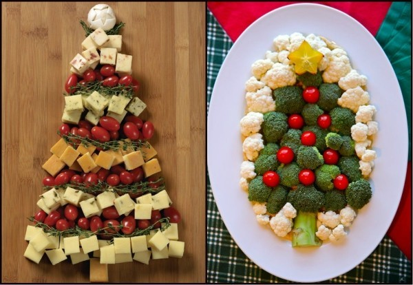 weihnachtenbastelideen deko mit lebensmitteln