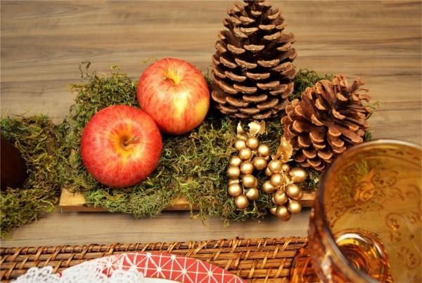 weihnachtenbastelideen edle rustikale ausstrahlung