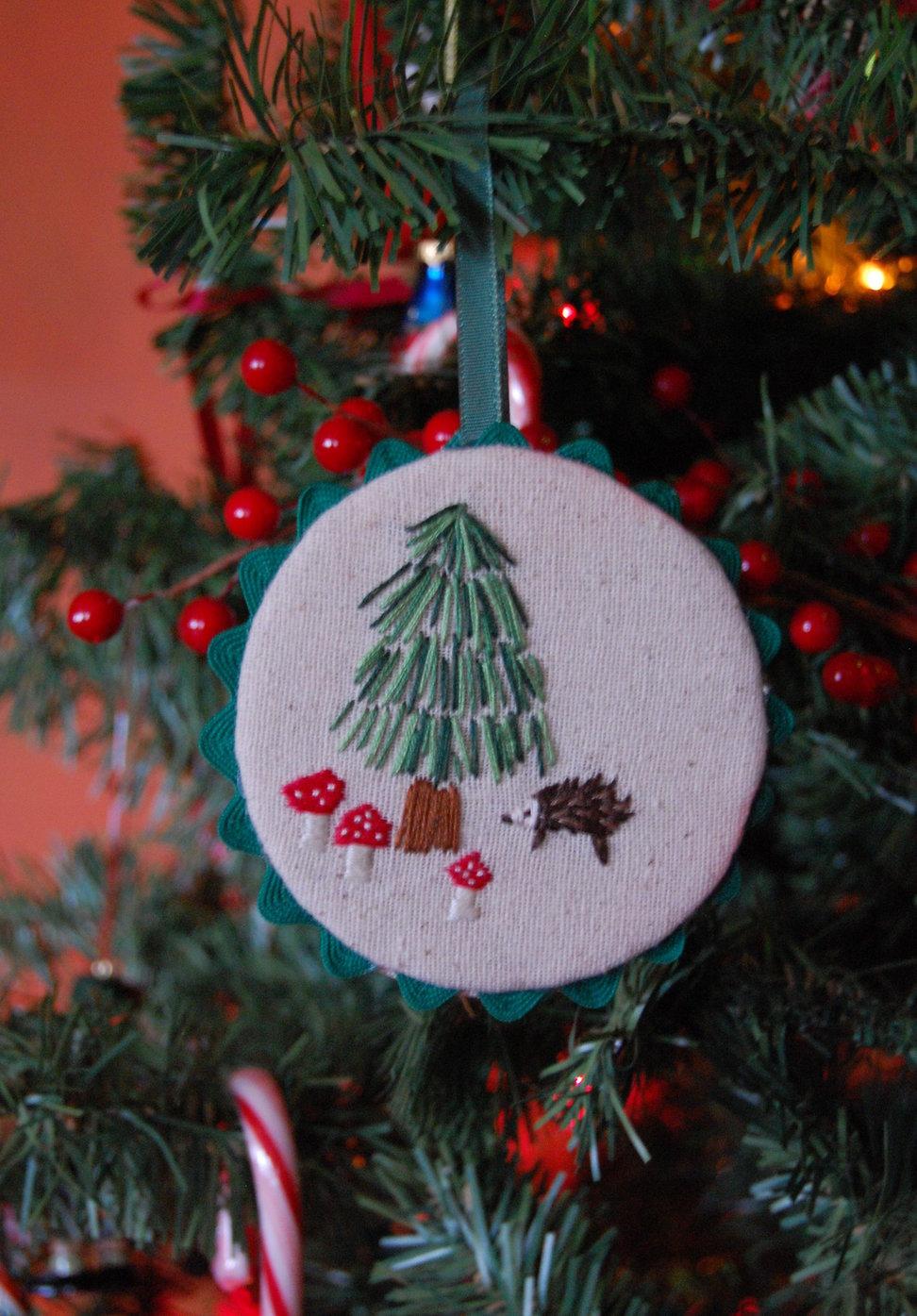 weihnachtsbastelideen schmuck für den tannenbaum