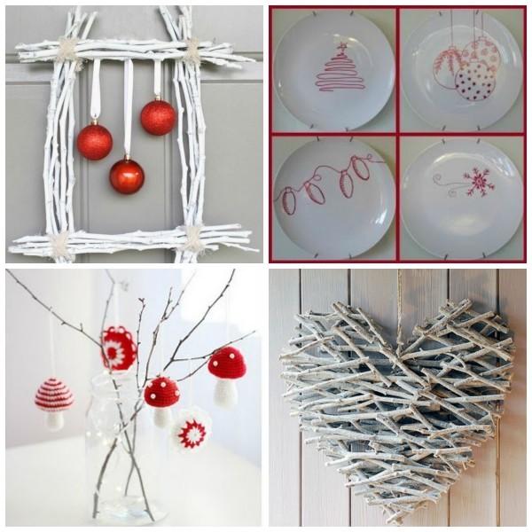 weihnachtsbastelideen tolle vintage ideen aus naturmaterialien