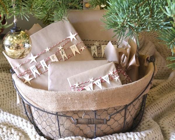 wunderbare buchstaben für geschenkpapier