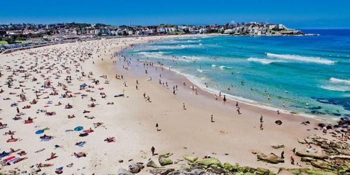 Schönste Strände der Welt Bondi Beach Australien