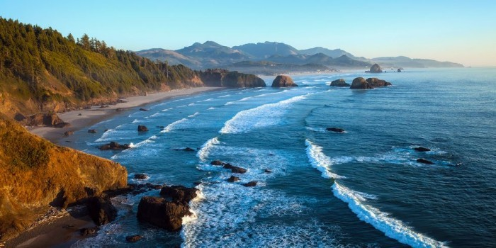 Schönste Strände der Welt Cannon Beach Oregon USA