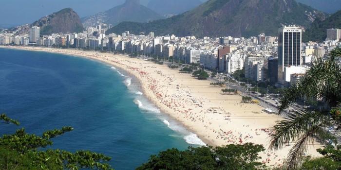 Schönste Strände der Welt Copacabana Brasilien