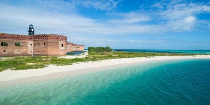 Schönste Strände der Welt Dry Tortugas Nationalpark Florida