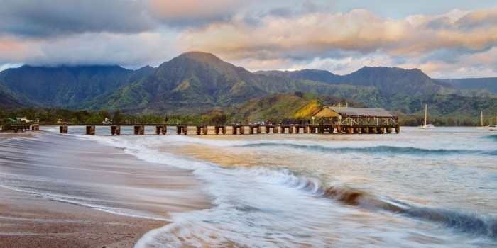 Schönste Strände der Welt Hanalei Bay Hawaii