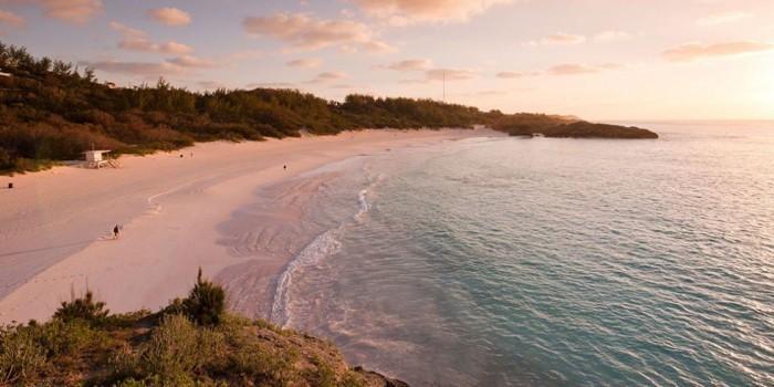 Schönste Strände der Welt Horseshoe Bay Beach Bermuda