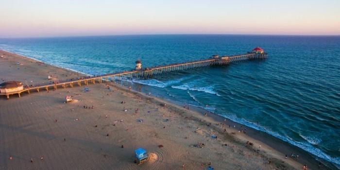Schönste Strände der Welt Huntington Beach Kalifornien