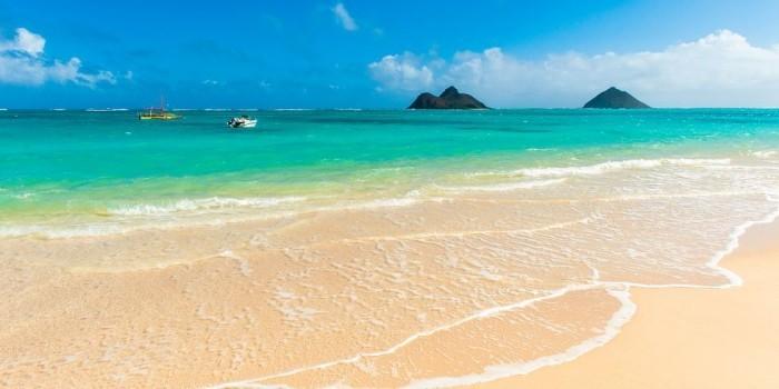 Schönste Strände der Welt Lanikai Strand Hawaii