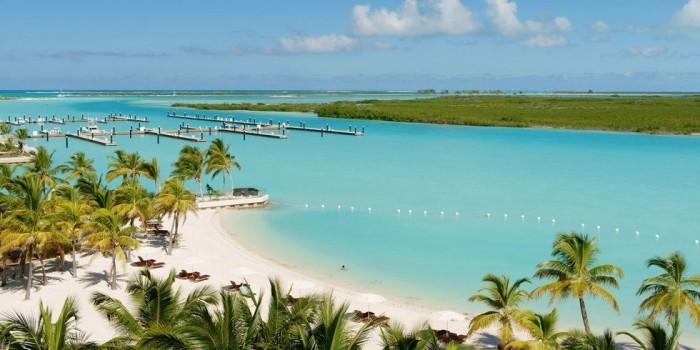 Schönste Strände der Welt Long Bay Beach Turks- und Caicos-Inseln
