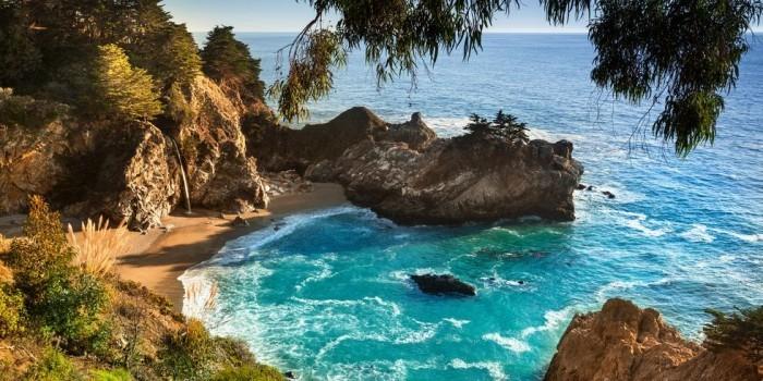 Schönste Strände der Welt Pfeiffer Strand Kalifornien
