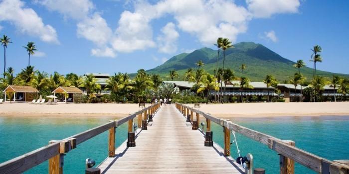 Schönste Strände der Welt Pinney's Beach Nevis in der Karibik