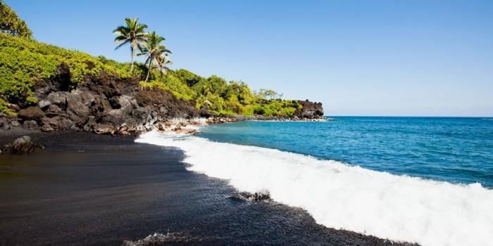 Schönste Strände der Welt Punalu'u Strand Hawaii