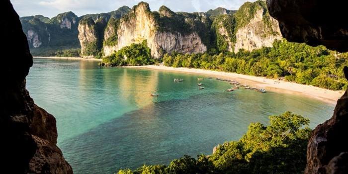 Schönste Strände der Welt Railay Beach Thailand