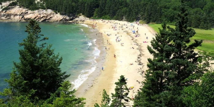 Schönste Strände der Welt Sand Beach Maine