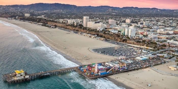 Schönste Strände der Welt Santa Monica Kalifornien