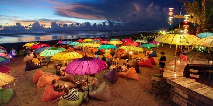 Schönste Strände der Welt Seminyak Strand Indonesien