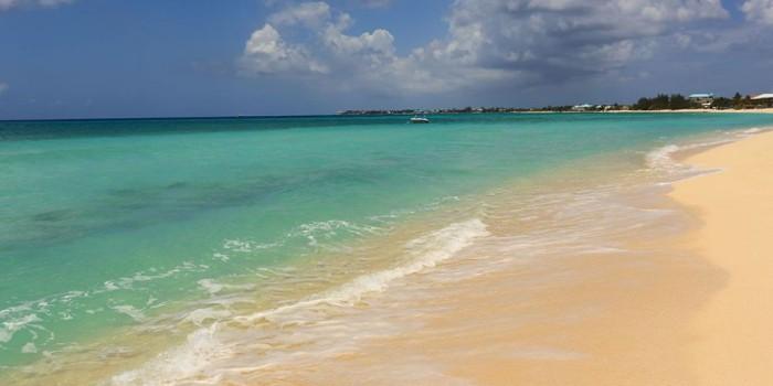 Schönste Strände der Welt Sieben Meilen Strand Kaimaninseln