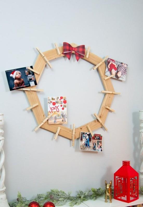Weihnachtskarten Bogen als Basis für Grußkarten