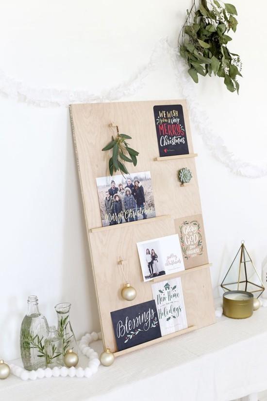 Weihnachtskarten schön und einfach arrangiert