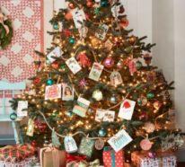 25 clevere Ideen, Weihnachtskarten gekonnt in Szene zu setzen