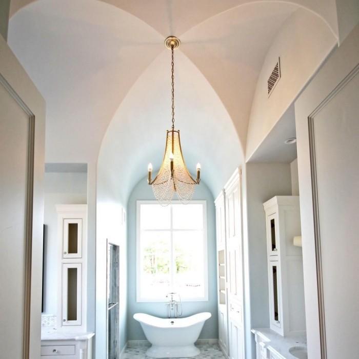 badezimmer decken gotische inspiration