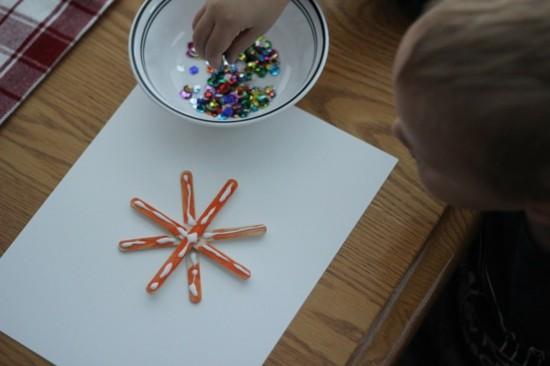 Kreative Schneeflocken Basteln 50 Einfache Ideen Fur Die Festliche