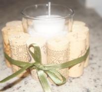 Basteln mit Korken – 30 stilvolle Ideen für Weihnachten