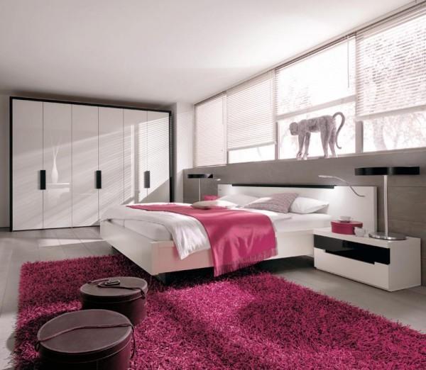 deko ideen rosa lila toll