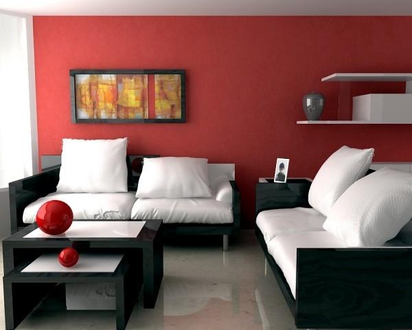 deko ideen schöne akzente in moderner farbe
