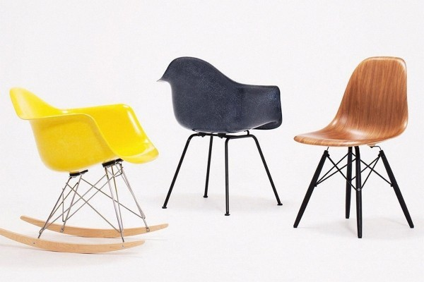 deko ideen stühle in drei farben