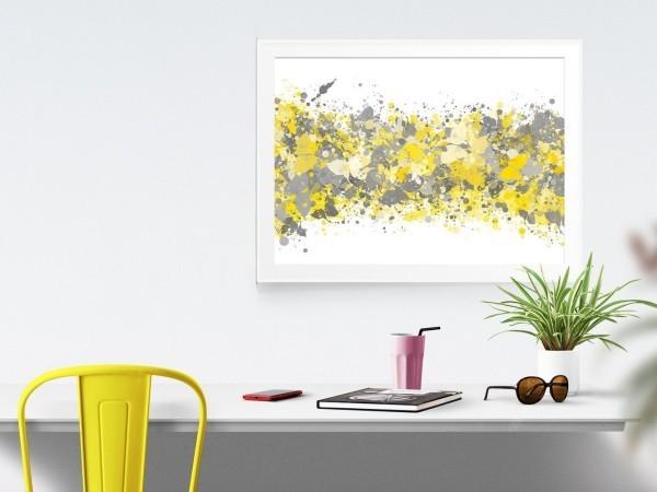 deko ideen veralteter stil gelbe gestaltung