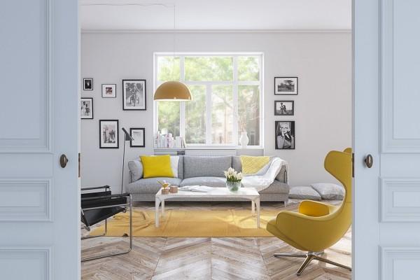 designideen in gelb deko ideen