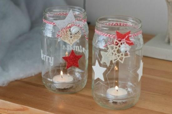 diy windlichter zu weihnachten selber machen