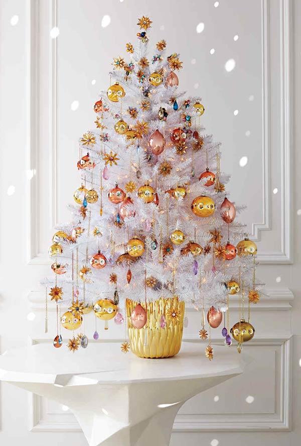 etwas gold und braun christbaumschmuck