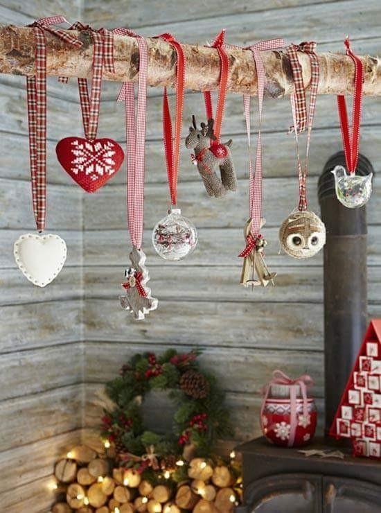 filz weihnachtsschmuck skandinavische weihnachtsdeko