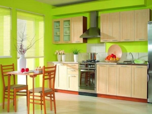 frische wände für die küche deko ideen